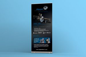 Rippel Effect Roll Up Banner