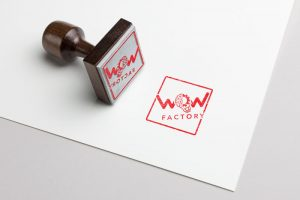WOW Factory Rubber Stamp